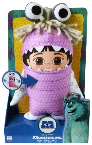 Monsters Inc Huggable Talking Boo Plush (Dispatched from UK) - Boo From Monster Inc Costumes