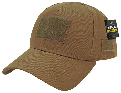 - Rapdom Tactical Low Crown Structured Cap, Coyote