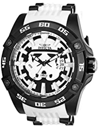Marvel 26516 Star Wars White Silicone Strap Stainless Steel Limited Edition Mens Watch