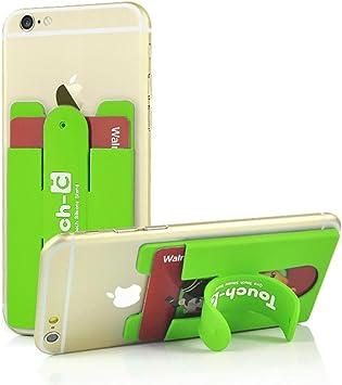 Touch-C Soporte Range Tarjeta Universal para Smartphone Verde ...