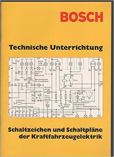 Bosch Technische Unterrichtung Schaltzeichen und Schaltpläne der ...
