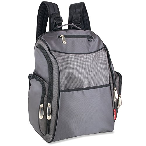 Fisher Price Backpack Diaper Bag - Fastfinder Grey