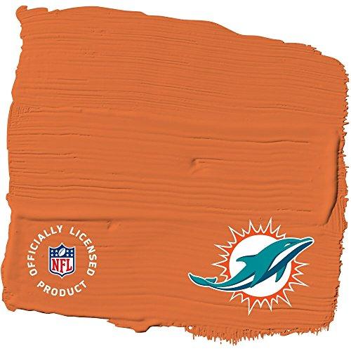 Price comparison product image NFL Paint Color - Miami Dolphins Glidden One Coat Interior Paint + Primer