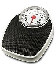Salter 195 WHKR Báscula digital Modelo: Doctor Style, Dial grande, Plataforma de goma antideslizante, Capacidad de 150 kg, Garantía de 15 años