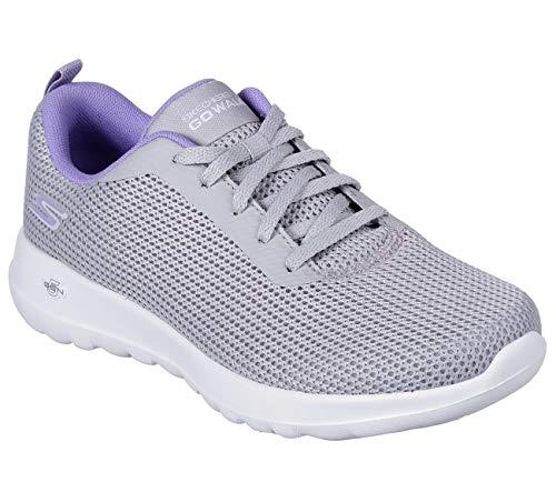 Skechers GO Walk Joy Upturn Womens Sneakers Gray/Purple 7