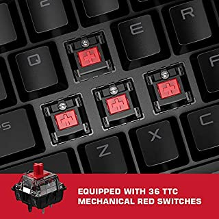GameSir VX2 AimSwitch Gaming Keypad and Mouse Combo for PS4 Xbox One Nintendo Switch Windows PC Game Console, Wireless Controller Adapter with TTC Red Switch Keyboard for PUBG/Fortnite/COD
