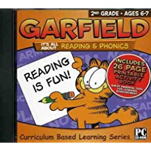 PC Treasures Garfield Software/Workbook: It's All About Reading and Phonics 2nd Grade
