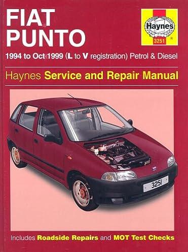 fiat punto petrol diesel 94 oct 99 haynes repair manual rh amazon co uk Fiat Bravo Fiat Uno