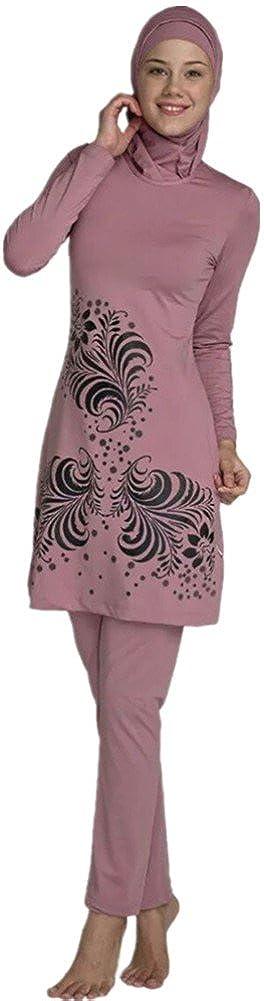 83fa976143298 YEESAM Muslim Swimsuit Islamic Full Cover Modest Swimwear Beachwear Burkini  at Amazon Women's Clothing store: