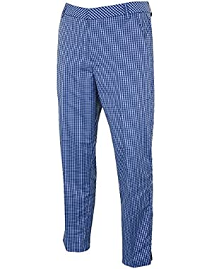 Golf Men's Plaid Tech Pant - US 34-32 - Sodalite Blue