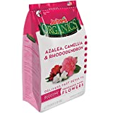 Jobe's Organics Azalea, Camellia, Rhododendron and Hydrangea Fertilizer with Biozome, 5-4-3 Organic Fast Acting Granular Fertilizer for Acid Loving Plants, 4 pound bag