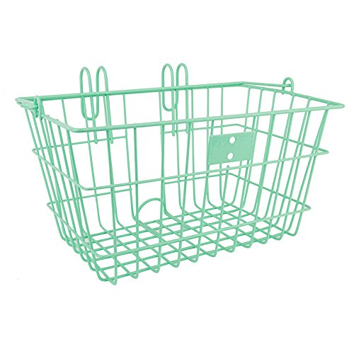 SunLite Wire Lift-Off Front Basket, Seafoam Green