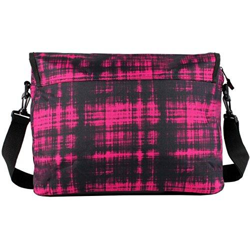 Hot Tuna vuelo bolsa de hombro bolso bandolera Rosa, rosa, H: 42cm; W: 30cm; D: 8cm.