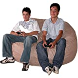 Cozy Sack 5-Feet Bean Bag Chair, Large, Buckskin
