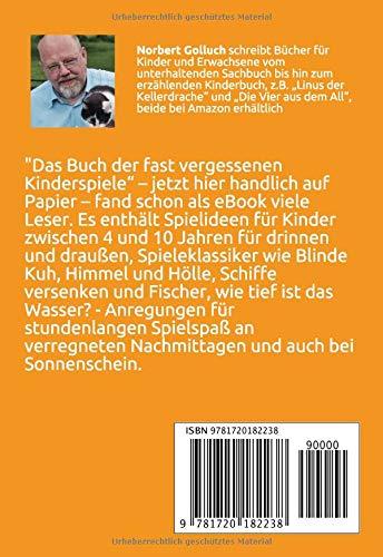 Das Buch Der Fast Vergessenen Kinderspiele Amazonde Norbert