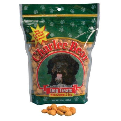 Charlee Bear Dog Treat, 16-Ounce, Cheese/Egg, My Pet Supplies