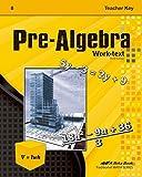Abeka PreAlgebra Teacher Key, 3rd Edition -