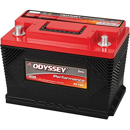 Turbo Series Battery - Odyssey Battery 0752-2020 Performance Powersport Battery Group 48 723 CCA w/SAE Terminals Performance Powersport Battery