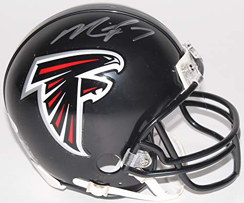 Michael Vick Atlanta Falcons Signed Autograph Mini Helmet Helmet JSA Witnessed Certified