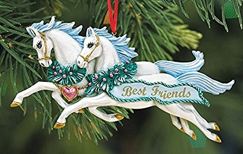 BREYER - BEST FRIENDS ORNAMENT - 2016 HOLIDAY HORSE - LIMITED EDITION