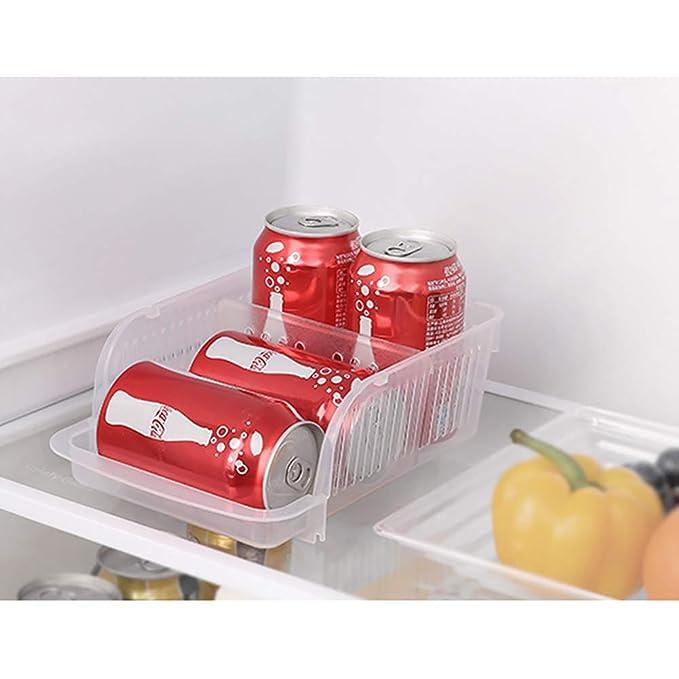 Organizador de refrigerador, dispensador de latas de Bebidas ...