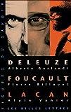 Coffret 3 Volumes : Deleuze - Foucault - Lacan, Les Belles Lettres, 2251760539