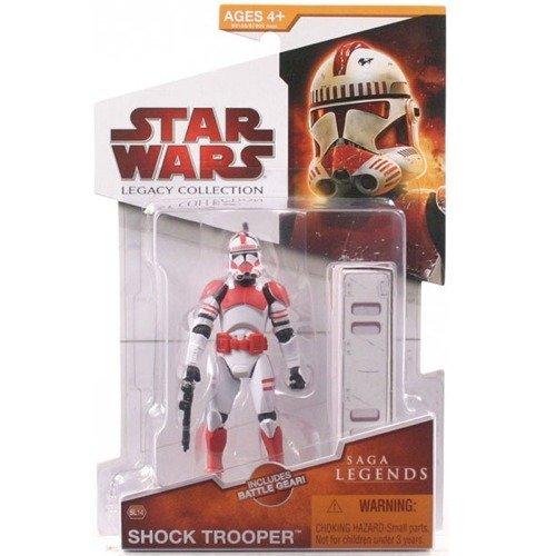 (Hasbro Star Wars 2009 Saga Legends Action Figure SL No. 14 Shock Trooper)