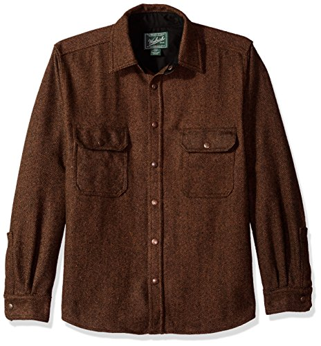 Woolrich Mens Wool Alaskan Shirt