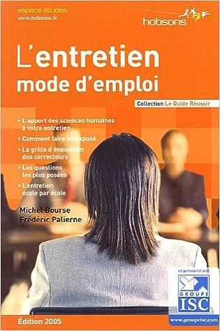 Livres en ligne téléchargement gratuit mp3 L'entretien : Mode d'emploi by Michel Bourse,Frédéric Palierne en français PDF RTF DJVU