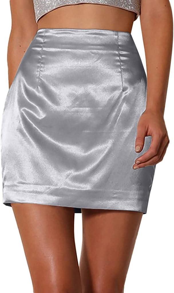 Falda Corta de Mujer KanLin1986 Vestido Ajustado de Mujer Falda ...