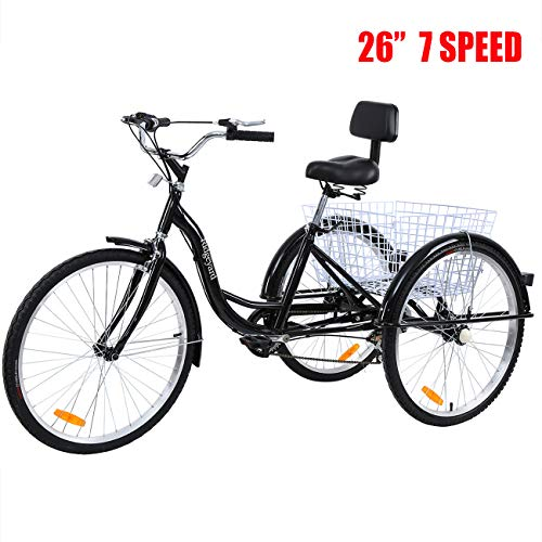 Heavy Duty MOPHOTO Bike Cover Adult Tricycle Cover for Outdoor Bicycle Storage