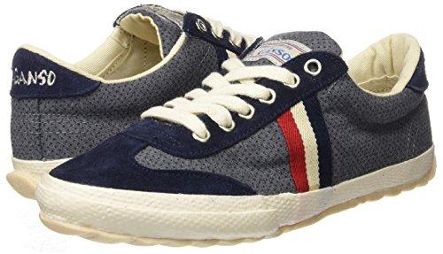 El Ganso M Match Ribbon, Zapatillas de Deporte Unisex Adulto, Gris (Grey Printed Dots Sondrio), 41 EU: Amazon.es: Zapatos y complementos