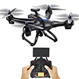 Drone, Kingspinner Global Drone X183 With 5GHz WiFi FPV 1080P Camera GPS Brushless Quadcopter,Flying Time: 15-20mins, Control Distance: 400m-Black