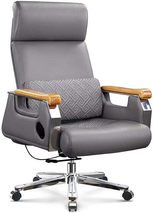 Amazon Com Modern Boss Chair Microfiber Leather Computer Chair Home Office Chair Reclining Executive Chair Seat Lift Swivel Chair Furniture Decor