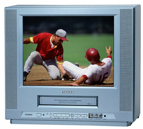 Toshiba MV14FL4 14-Inch Flat Screen TV/VCR ()