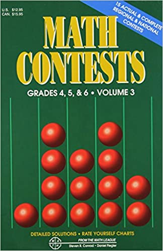 Math Contests, Grades 4, 5, and 6: School Years 1991-92 through 1995