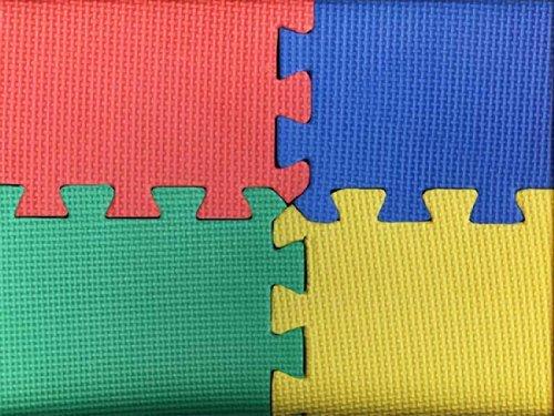 4 x Puzzlematten / Steckmatten / Bodenmatten / Sportmatten / Spielteppich / Unterlegmatten - *Sport zu Hause, Fitnessgeräte oder für Kinder*