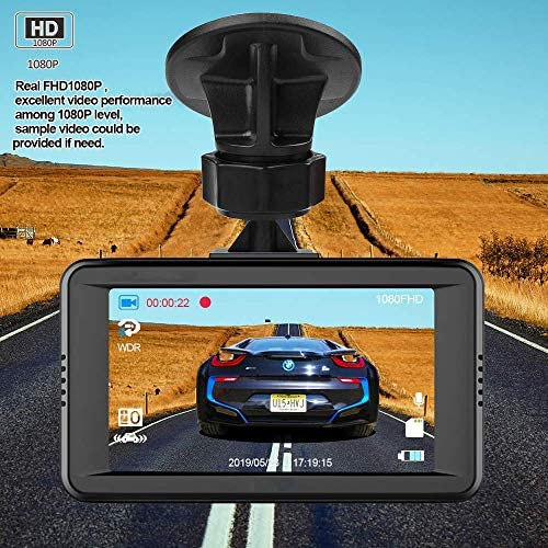Dash Camera for Cars FHD 1080P Front Dash Cam with Night Vision 2 Mounts 7072H