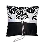 Best Dimart Pillows - Dimart Wedding Ring Pillow Cushion Black White Constrast Review