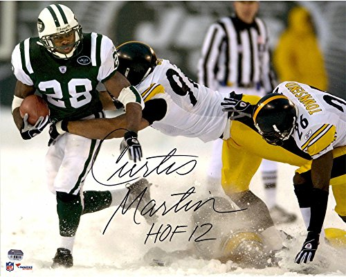Curtis Martin New York Jets Autographed 16