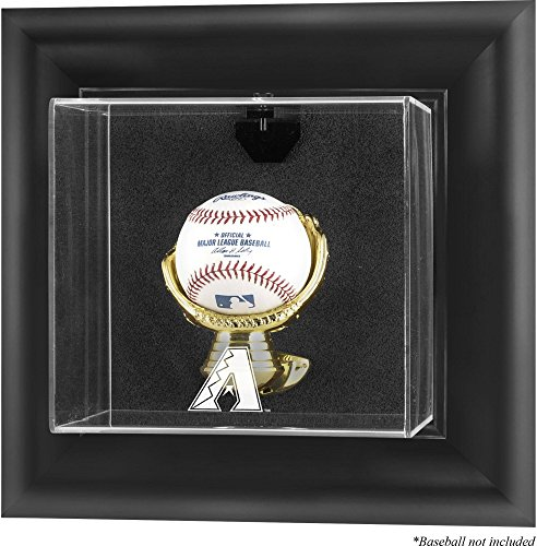 Mounted Memories Arizona Diamondbacks Framed Wall Mounted Logo Baseball Display Case (Diamondbacks Arizona Wall Framed)