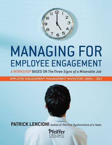 Managing for Employee Engagement: Self Assessment
