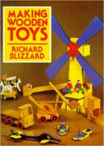 Making Wooden Toys Amazoncouk Richard Blizzard 9780719552960 Books