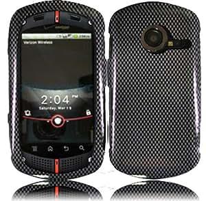 Carbon C771 Fiber Design Hard Case Cover for Verizon Wireless Casio G'zOne Commando