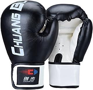 QUANGJISH Gants de Boxe Sparring Punch Bag Lutte Muay Thai Grappling Lutte Mitaines Formation d'arts Martiaux Kickboxing