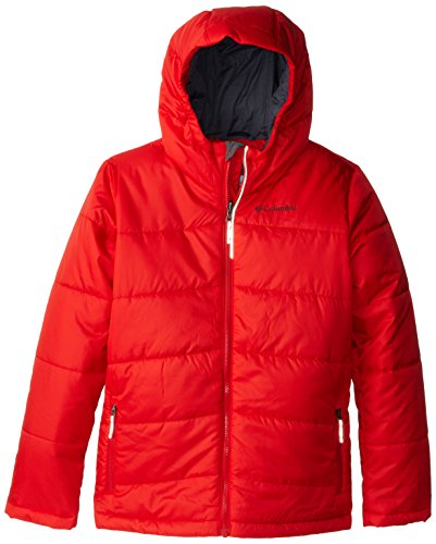 Columbia Boy's Shimmer Me Jacket, Bright Red, Small