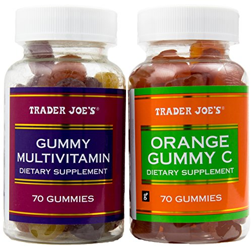 Gummy Multivitamin with Gummy Orange Vitamin C - 2 Bottle Combo Pack