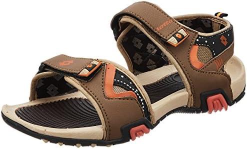 05d27b838 Lotto Men s Brown and Orange Sandals - 6 UK India (40 EU)(GT7043 ...