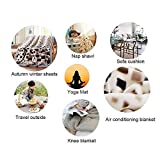 Xungzl Bleach - Grimmjow Jeagerjaques Face Close-up Picture 3D Printed Blanket Cartoon Anime Characters Soft Plush Flannel Blanket Quilt Anime Fans Otaku Gift Bedding