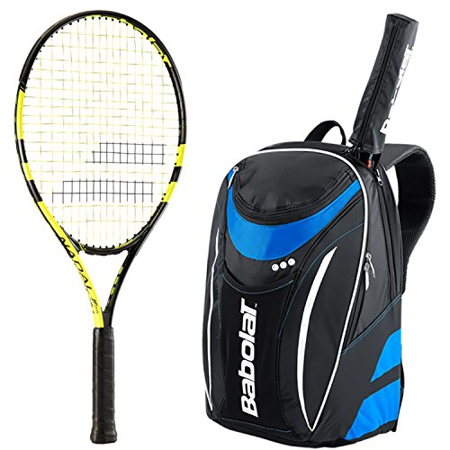 Babolat Nadal Junior 26 Inch Tennis Racquet bundled with ...